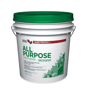 Sheetrock All Purpose Joint Compound 4.5 gal. White 24 hr.