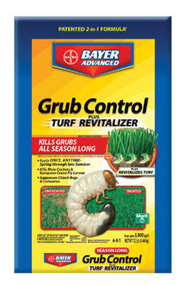 Bayer Advanced Grub Control Plus Turf Revitalizer Insect Killer For Grubs 12 lb.