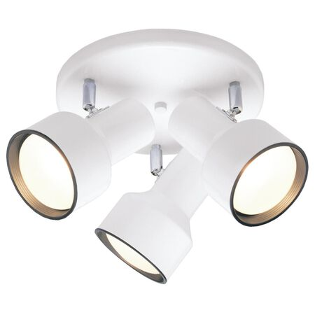 Westinghouse White Ceiling Fixture 10-3/16 in. D x 8-1/4 in. H x 10-1/8 in. W