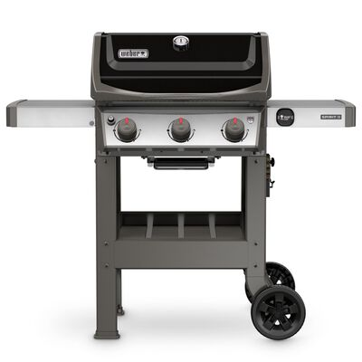 Weber Spirit II E-310 3 burners Propane 44.5 in. H Grill Black 30 000 BTU