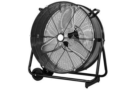 Cool Flow 24 in. Dia. 2 speed AC Drum Fan