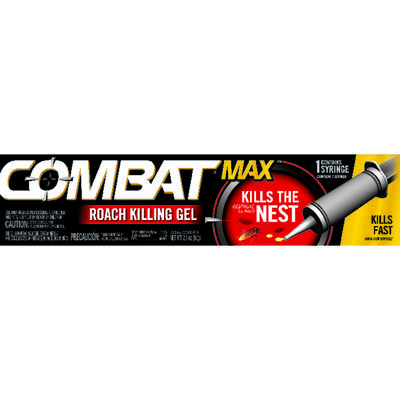 Combat Max Gel Roach Killer 2.1 oz.