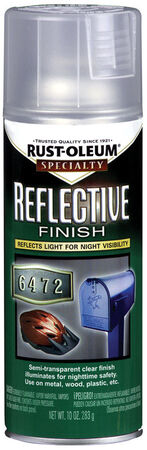 Rust-Oleum Specialty Semi-Transparent Clear Reflective Finish Spray 10 oz.