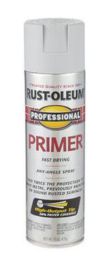 Rust-Oleum Professional Gray Primer Flat Primer Spray 15 oz.