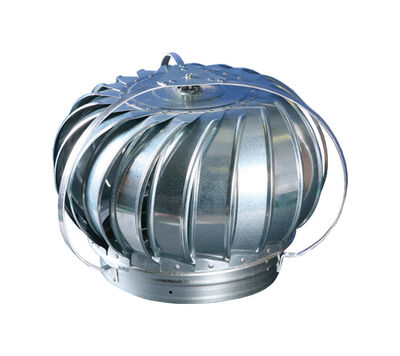 Air Vent Metallic Steel Turbine Head