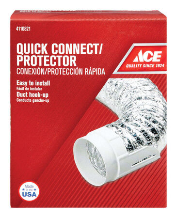 Ace 4 in. Aluminum Duct Protector