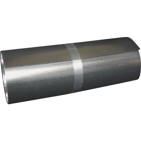 "24"" x 10' galvanized roll valley"