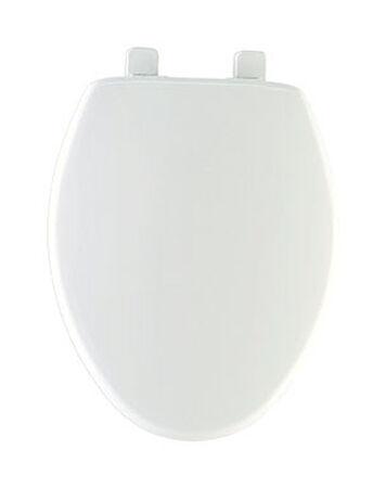 Mayfair Plastic Slow Close Toilet Seat Elongated White