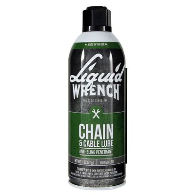 Liquid Wrench Petroleum Oil Chain and Cable Lubricant 11 oz. Can