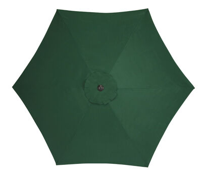 Living Accents 9 ft. Dia. Tiltable Patio Umbrella Green