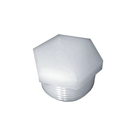 Green Leaf 1/4 in. Dia. MPT To MPT To MIPT Nylon Hex Plug