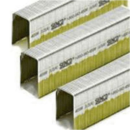 Senco Stainless Steel Steel Boxed 16 Ga. Wire Staples