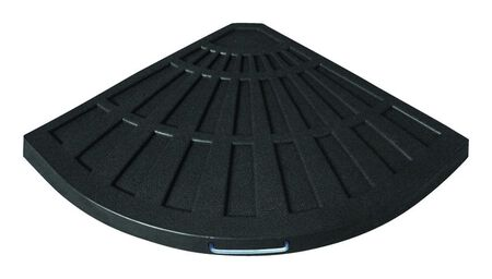 Bond Black Envirostone Umbrella Base 26 in. L x 19 in. W x 1.65 in. H