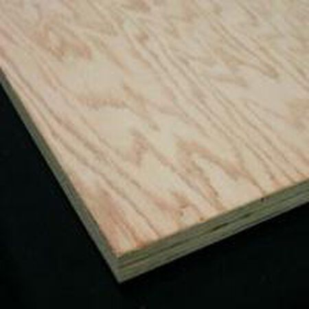 Plywood Oak 4' x 8' x 1/4""