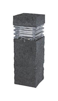 Paradise Low Voltage LED Bollard Light Black 20 watts 1 pk