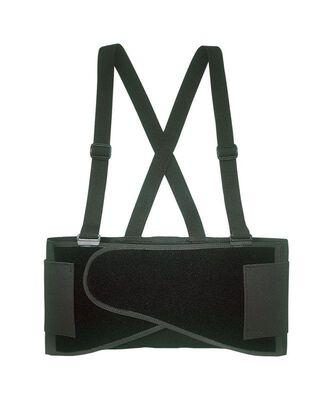 CLC Black Elastic Back Support Belt 46 To 56