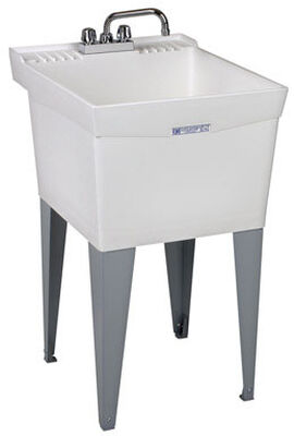 Utilatub Tub Laundry and Utility 20 in. x 24 in. x 34 in. 18 gal.