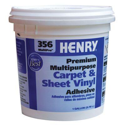 Henry 356 MultiPro Premium Multipurpose Carpet & Sheet Vinyl Adhesive 1 gal.