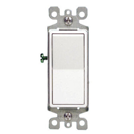 Leviton Decora 15 amps Rocker 4-Way Switch Single Pole
