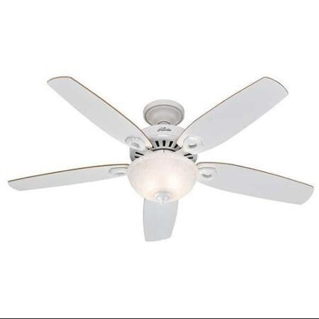Hunter Fan Builder Deluxe Ceiling Fan 52 in. W White