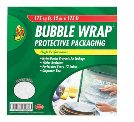 Duck 12 in. W x 175 ft. L Bubble Wrap