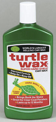 Turtle Wax Super Hard Shell Wax Automobile Wax 16 oz. For All Finishes