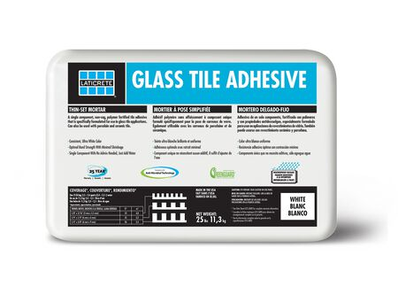 Adhesive Tile Glass 25lbs