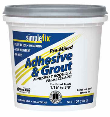 Custom SimpleFix White Grout 1 qt.