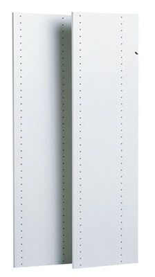 Easy Track 48-3/4 in. L x 14-1/4 in. H x 1-3/4 in. W Tower Panels White