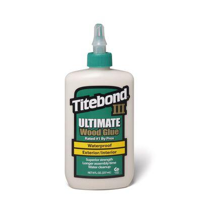 Titebond III Ultimate Waterproof Wood Glue 8 oz.