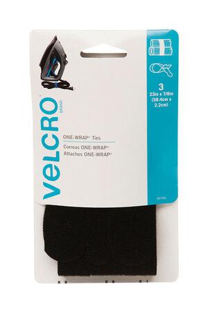 Velcro 23 in. L x 7/8 in. W Strap 3 pk
