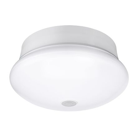 ETi 3.54 in. H x 7 in. W White LED Ceiling Spin Light