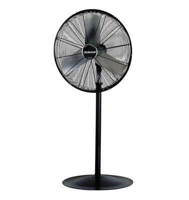 Polar Aire Industrial Pedestal Fan 41.3 in. H x 37.9 in. L x 6.3 in. W x 30 in. Dia. 3 speed Oscil