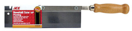 Ace Dovetail Saw 10 in. L Hardwood Handle