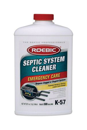 Roebic K-57 Liquid Septic System Cleaner 1 qt.