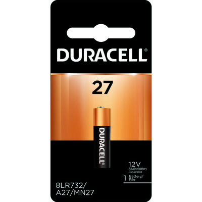 Duracell Alkaline 12 volts Security Battery 27