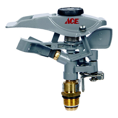 Ace Metal Spike Impulse Sprinkler Head 5700 sq. ft.