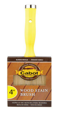 Cabot 4 in. W Wood Stain Brush