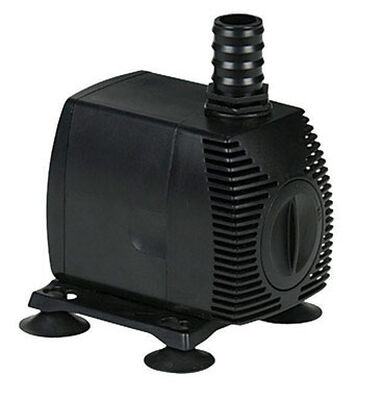 Little Giant Magnetic Drive Thermoplastic Pond Pump 1/40 hp 725 gph 115 volts