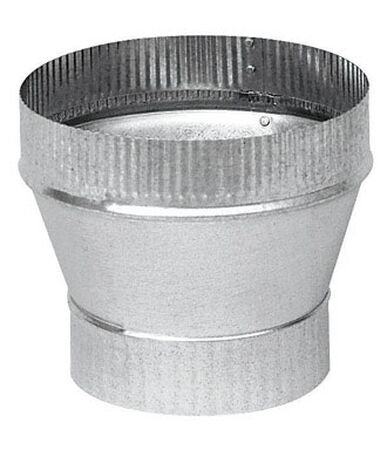 Imperial 3 in. Dia. x 4 in. Dia. Galvanized Steel Stove Pipe Increaser