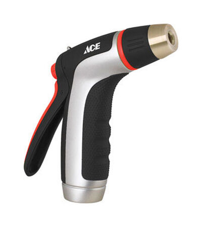 Ace Aqua Gun 1 pattern Adjustable Hose Nozzle