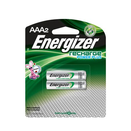 Energizer NiMH AAA 1.2 volts Rechargeable Batteries NH35BP-2