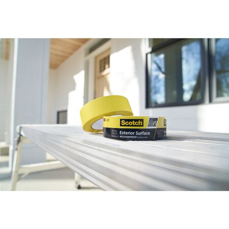 Scotch 1.41 in. W x 45 yd. L Yellow High Strength Painter's Tape 1 pk