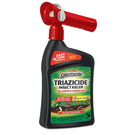 Spectracide Triazicide For Lawns Liquid Concentrate Insect Killer 32 oz