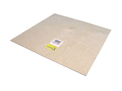 Midwest Products 1/8 in. x 1 in. W x 1 in. L Plywood Plywood
