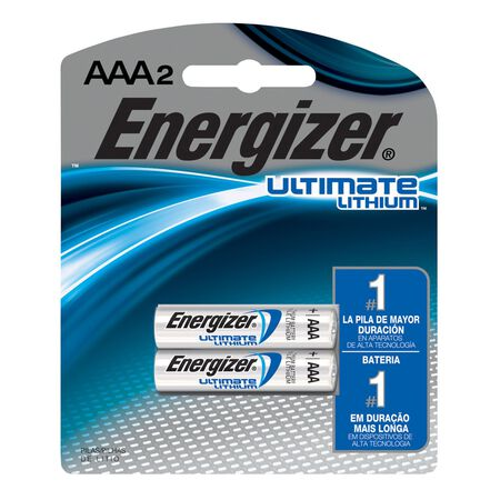 Energizer Ultimate Lithium AAA Camera Battery L92BP-2