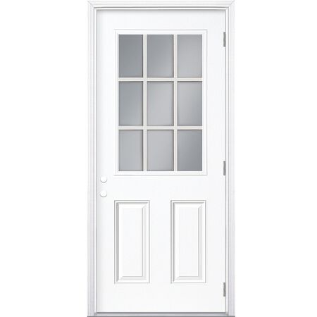 Steel Entry Door Right Hand - 32 in x 80 in