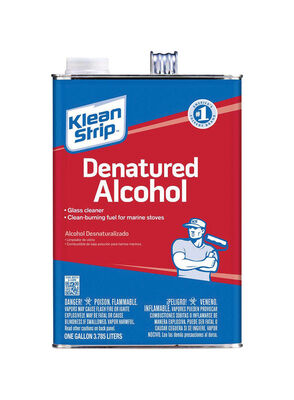 Klean Strip Denatured Alcohol Clean Burning Fuel 1 gal.