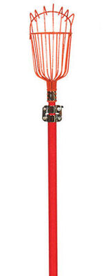 Lawn & Garden 96 in. Fiberglass Long Handle Fruit Picker