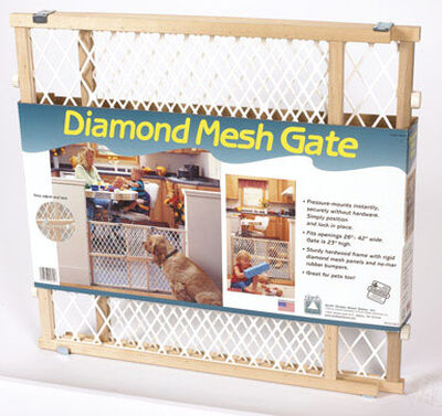 North States Brown Wood Child Safety Gate 26-42 in. W